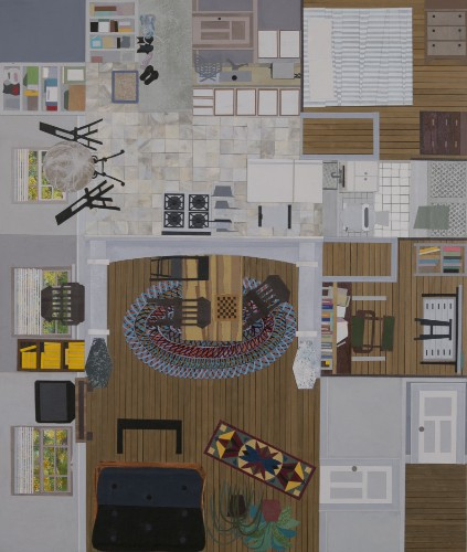 Paintings Of Living Rooms And Tiny Apartments Show What The Insides Of Marriage Look Like