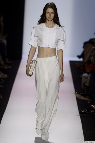 Fashion Week Look Of The Day: BCBG Max Azria Delivered White Hot Looks (PHOTOS)