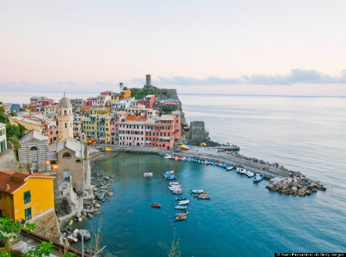 Vernazza Is The Most Stunning Cliff Town We've Ever Seen