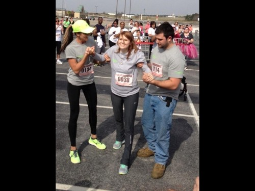 Woman With Disability Took First Steps In 6 Years, Then Ran Race Weeks Later