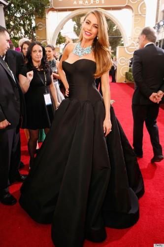 Sofia Vergara's Golden Globes Dress 2014 Proves She's A Red Carpet Pro (PHOTOS)