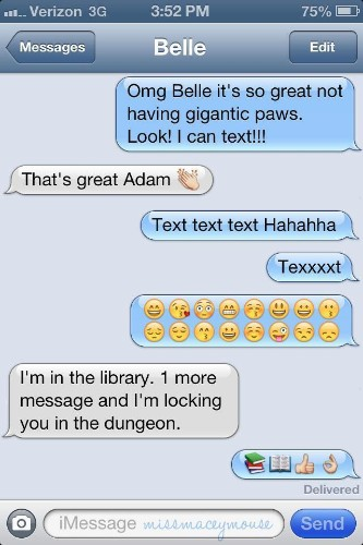 If Disney Princesses Could Text Their Princes (PICTURES)