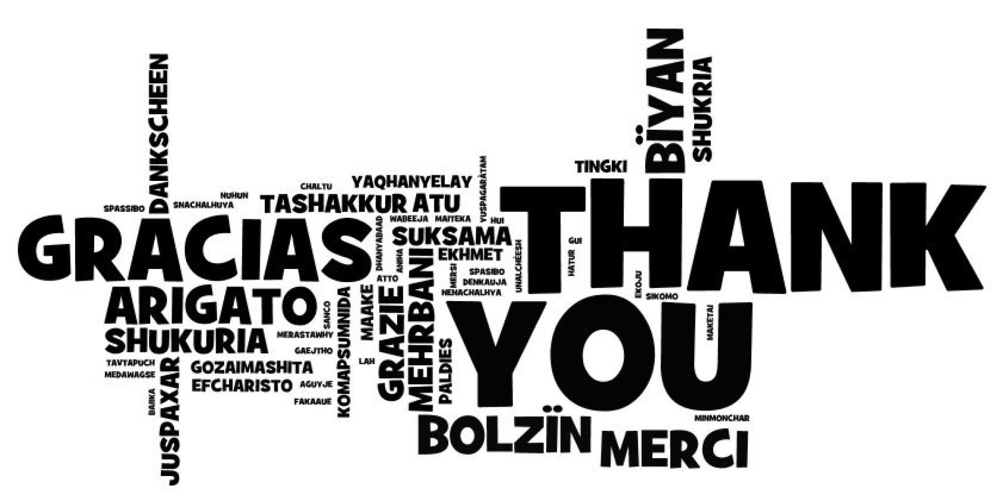 How To Say 'Thank You' Around The World
