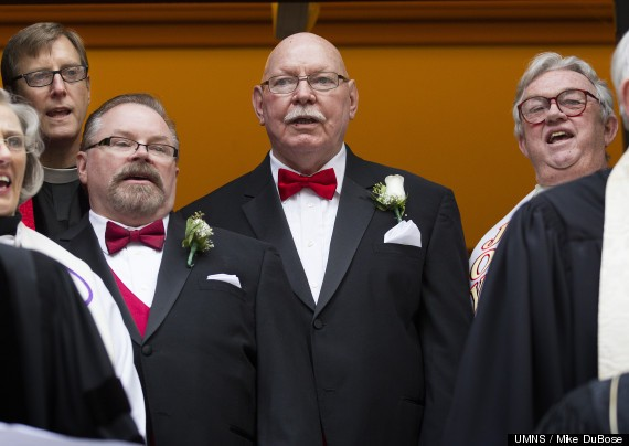50 Ministers Bless Gay Marriage Of Bill Gatewood And Rick Taylor, Showing Solidarity With Rev. Frank Schaefer