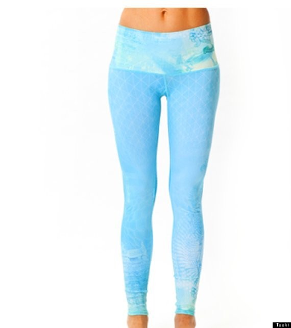 Teeki Yoga Pants Are Made Entirely From Recycled Water Bottles