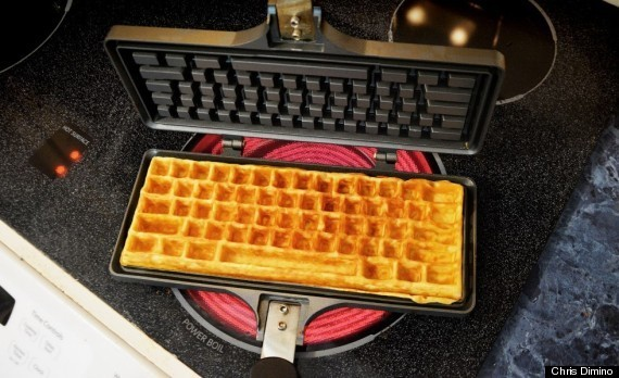 This Keyboard Waffle Iron Should Be On Everyone's Wish List