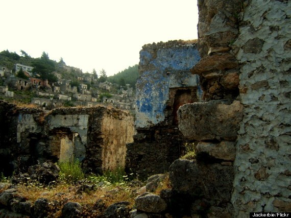 For Halloween, You Should Visit This Turkish Ghost Town