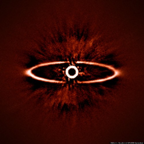 The 'Eye Of Sauron' Was Spotted By A New Planet Hunter, And It Looks A Little Bloodshot