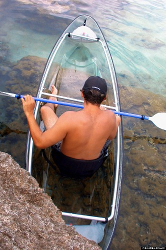 The Molokini, A Transparent Ocean Kayak So Genius, We Wish We'd Thought Of It