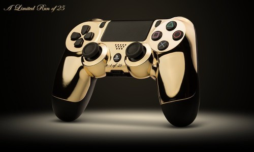 Yes, People Actually Bought These Gold-Plated Video Game Controllers
