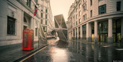 Eerily Realistic Photos Show What Our Cities Would Look Like If 'Star Wars' Invaded