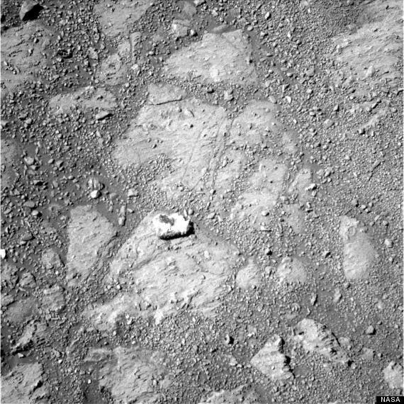 Mars Rock Mysteriously Shows Up In Images Snapped By Mars Opportunity Rover (PHOTOS)