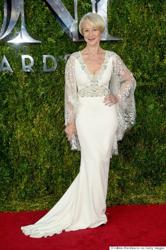 Helen Mirren Looks Glamorous As Always At The Tony Awards