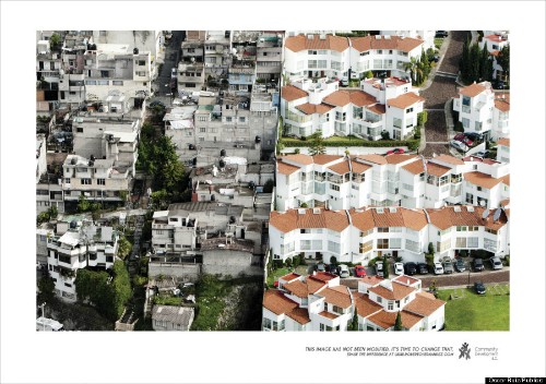 Stark Photos Of Inequality In Mexico City Show A Metropolis Divided