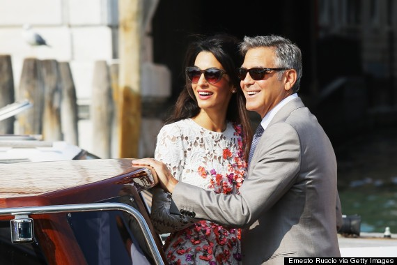 George Clooney & Amal Alamuddin Step Out For First Time Post-Wedding