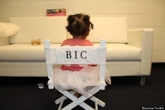 Beyonce's Daughter, Blue Ivy Carter, Takes Her Rightful Throne In New Photo