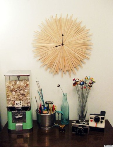 7 Clock Ideas That Will Add A Touch Of DIY To Any Space (PHOTOS)
