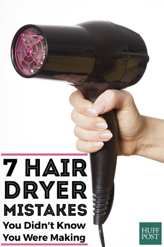 7 Blow-Drying Mistakes You're Probably Making