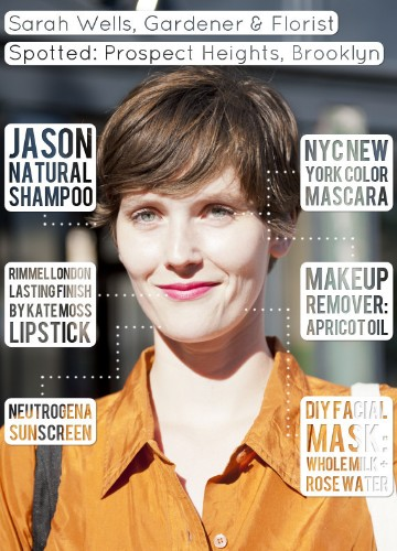 Sarah Wells, Gardener & Florist, Never Washes Her Face And Still Has Amazing Skin