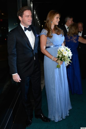 Princess Madeleine Wears The Most Princess-y Maternity Gown Ever (PHOTOS)