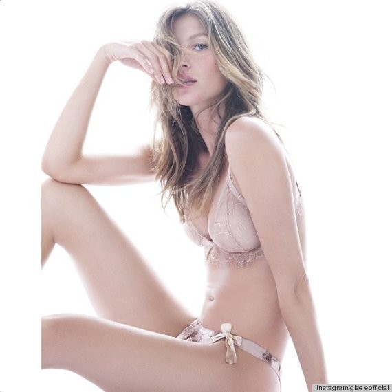 Gisele Lingerie Line Unveils New Designs (PHOTOS)
