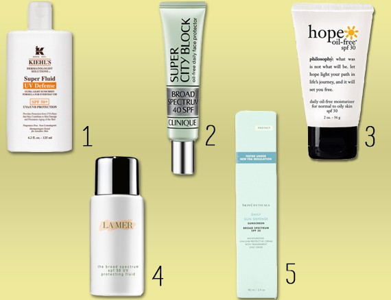 Best Facial Sunscreens: The Top 5 Formulas That Will Protect Your Face This Summer