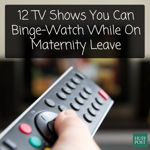 12 TV Shows To Binge-Watch While On Maternity Leave (If You Have Any Time)