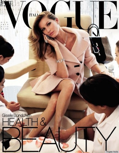 Gisele Bundchen's Blood Facial, Cupping In Vogue Italia: A Subtle Dig At Hollywood? (VIDEO, PHOTO)