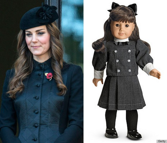 Kate Middleton Is Basically A Samantha Doll Come To Life (PHOTOS)