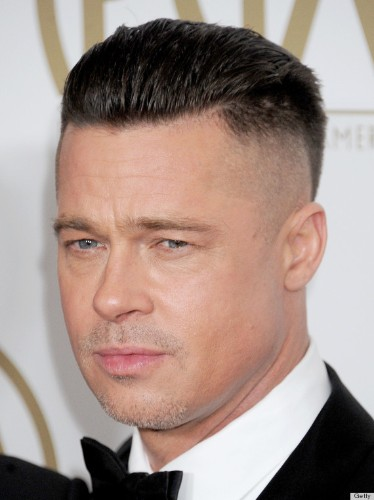 Brad Pitt's New Hair Is For A Movie... But We're Hoping He'll Keep It For Good