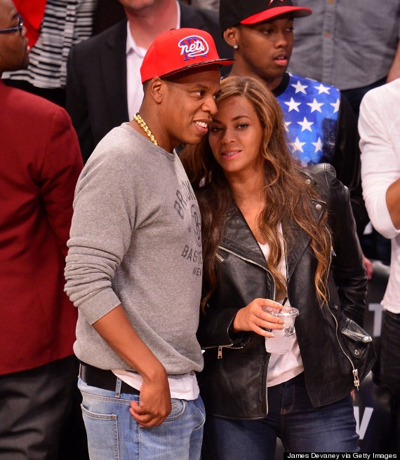 Beyonce And Jay Z Have A Date Night At Brooklyn Nets Game