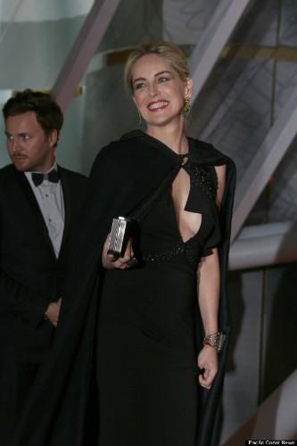 Sharon Stone Stuns In Floor-Length Gown At Marrakesh International Film Festival