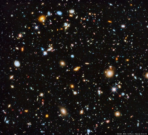 This Amazing Shot Of 10,000 Galaxies May Be The Hubble Telescope's Most Revealing Photo Ever