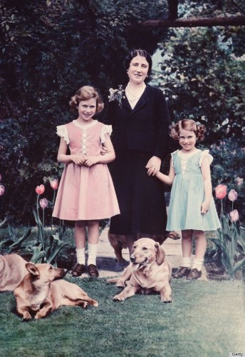 Queen Elizabeth & Princess Margaret Were The Olsen Sisters Of Their Time (PHOTOS)