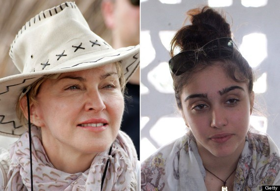 Madonna's Daughter Lourdes Looks JUST Like Her (PHOTO)