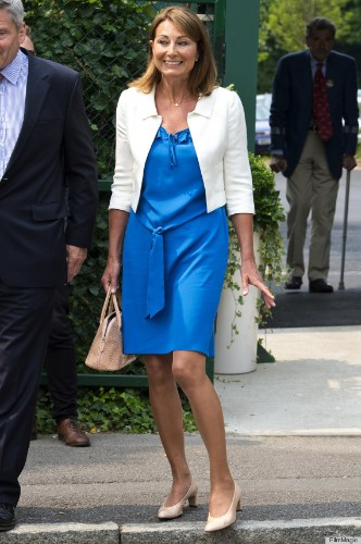 Carole Middleton Looks More Like Kate's Twin Than Kate's Mother (PHOTOS)