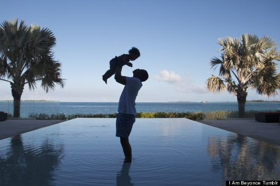 This Photo Of Jay Z Playing With Blue Ivy Will Give You Baby Fever