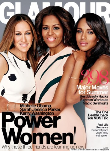 Michelle Obama, Kerry Washington And Sarah Jessica Parker Are Glamour's Power Trifecta