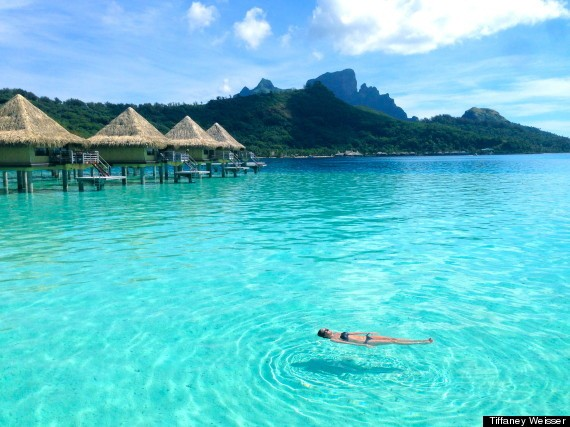 Your Weekly Travel Zen: The Bluest Water You've Ever Seen