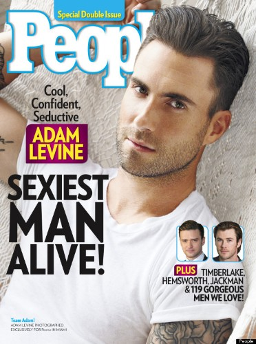 Adam Levine Is People's 'Sexiest Man Alive' Of 2013