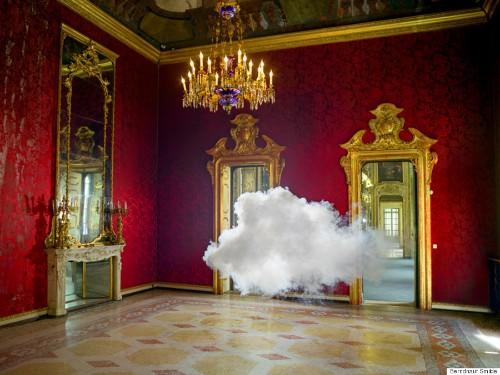 Dreamy Artist Berndnaut Smilde Photographs Real Rainclouds, Indoors