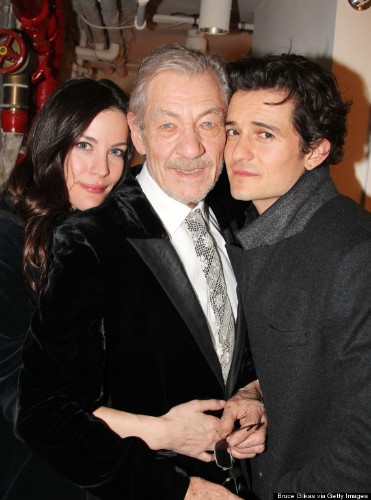 Liv Tyler, Ian McKellen And Orlando Bloom Have A 'Lord Of The Rings' Reunion