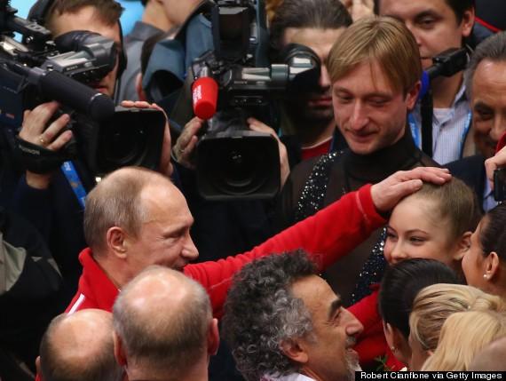 Even Vladimir Putin Had To Stand & Applaud Russian Figure Skating Prodigy Julia Lipnitskaia