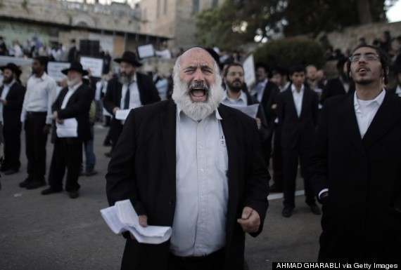 Orthodox Jews Protest Upcoming Pope Visit To Last Supper Site In Jerusalem