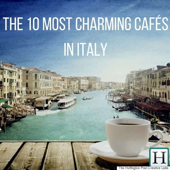 These 10 Charming Italian Cafᅢᄅs Make Us Want To Drop Everything And Go