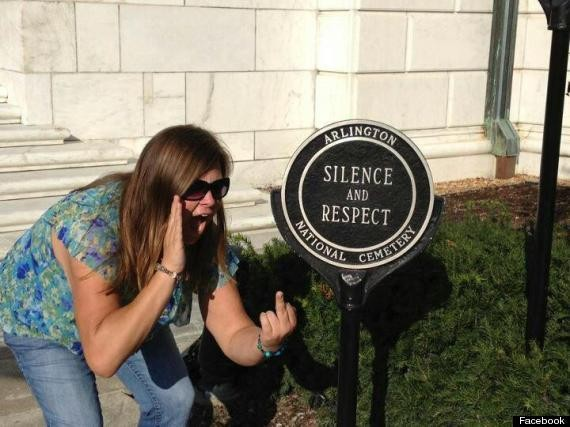 Lindsey Stone, Plymouth Woman, Takes Photo At Arlington National Cemetery, Causes Facebook Fury