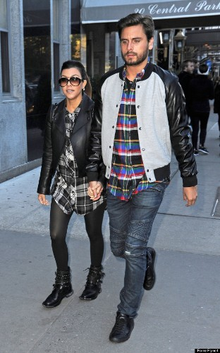 Kourtney Kardashian And Scott Disick Hold Hands In NYC