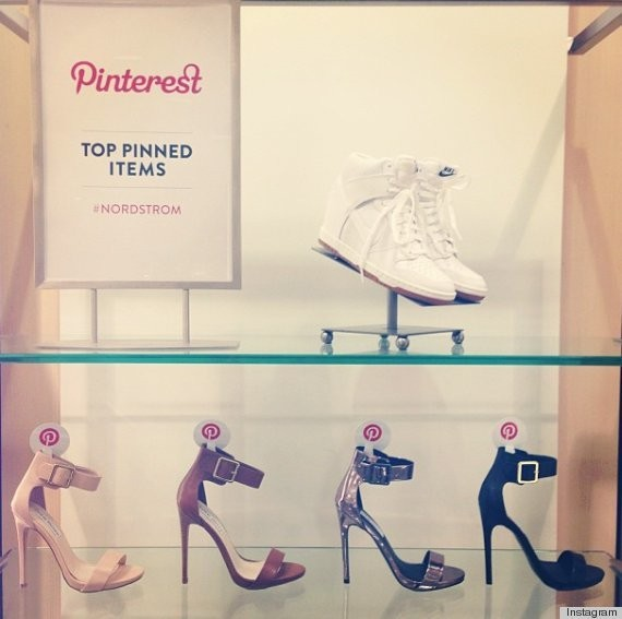 Nordstrom Pinterest 'Top Pinned Items' Come To Life In Stores (PHOTOS)