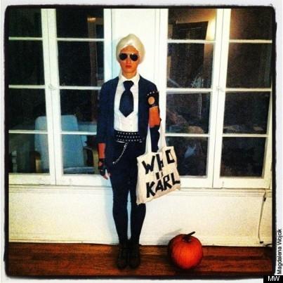 DIY Halloween: Becoming Karl Lagerfeld