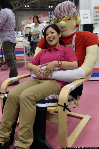 'Hugging Chair' Invented To Cure Loneliness